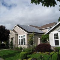 Residential Solar Roof. Hillsboro, OR.