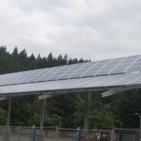 BIPV Solar Lane Community College