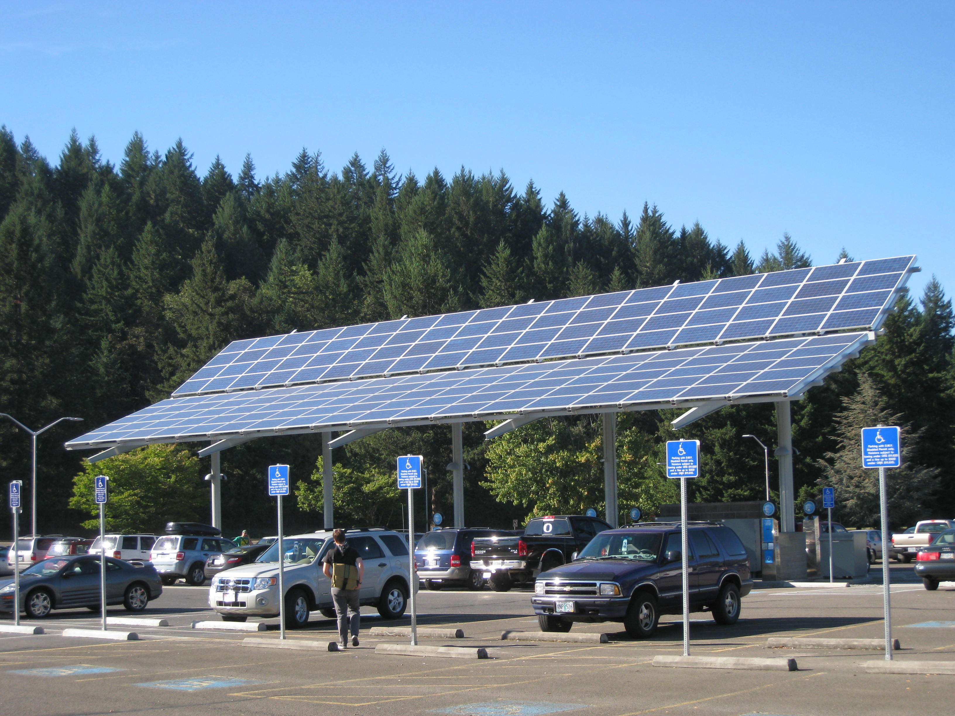 Lcc Solar Powered Vehicle Charging Station Energy Design